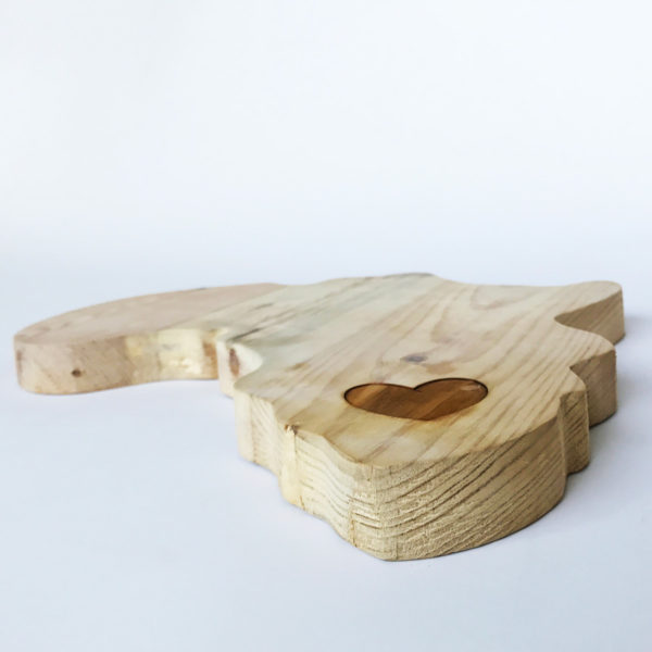 Africa Wooden Cheeseboard - Bleached Wooden Furniture and Decor South Africa
