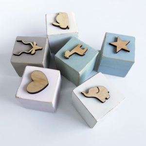 Symbol Wood Blocks Bleached Wooden Furniture and Decor South Africa