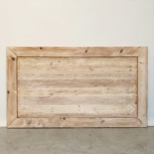 Oregon Headboard bleached wooden furniture and decor south africa