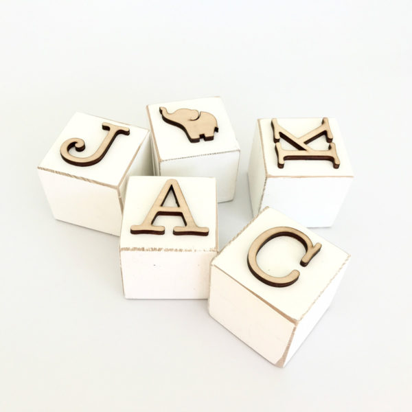 Jack Wood Blocks - Bleached Decor