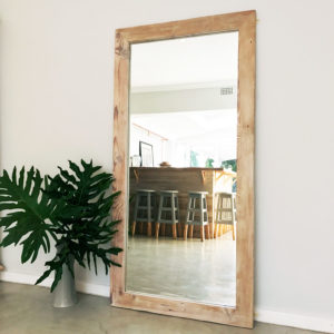 Mirror | Bleached decor | wooden furniture | reclaimed wood | South Africa
