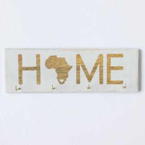 Key hooks, Africa key hook, wooden key hook, engraved key hook, Bleacheddecor, Bleached, South Africa