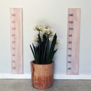 Wooden height chart, wooden height ruler, kiddies decor, kids room decor, Bleacheddecor. Bleached, South Africa