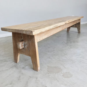 barn style bench, wooden bench, modern rustic bench, Bleached, South Africa