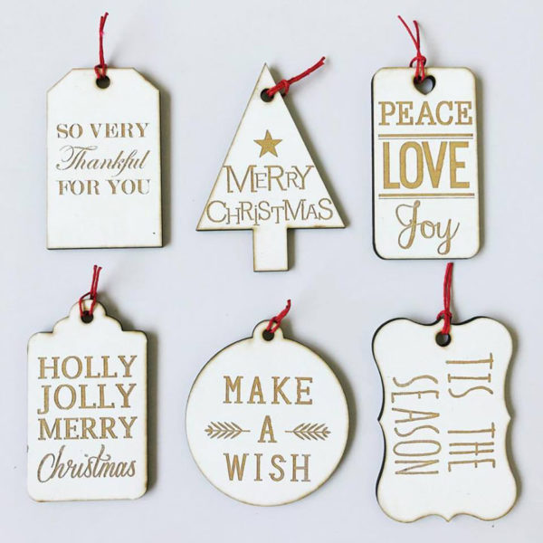 Christmas gift tag, gift tag, laser cut gift tag, engraved gift tag, Christmas, Bleacheddecor, Bleached, South Africa